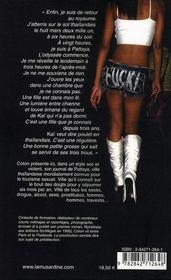 Fuck and forget ; journal de pattaya - 4ème de couverture - Format classique