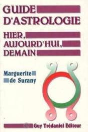 Guide D'Astrologie Hier - Couverture - Format classique