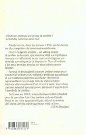 Disputatio lamberti de secario - 4ème de couverture - Format classique