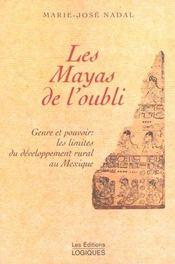 Les Mayas De L'Oubli - Intérieur - Format classique