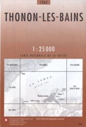 Thonon-les-Bains ; 1262 - Couverture - Format classique