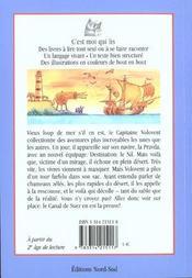 Les Incroyables Aventures Du Capitaine Volovent - 4ème de couverture - Format classique