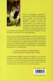 100 ordonnances naturelles pour 100 maladies courantes - 4ème de couverture - Format classique
