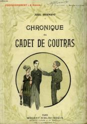 Chronique Du Cadet De Coutras. Collection Modern Bibliotheque. - Couverture - Format classique
