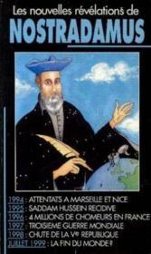 Les nouvelles révélations de Nostradamus - Couverture - Format classique