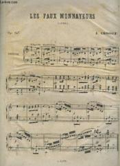 Les Faux Monnayeur - Caprice Op.147 Pour Piano. - Couverture - Format classique