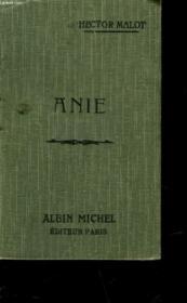 Anie - Couverture - Format classique