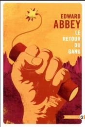 Le retour du gang - Couverture - Format classique