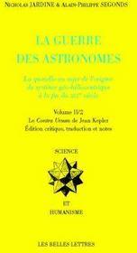 La guerre des astronomes - Couverture - Format classique