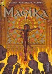 Magika t.2 ; les versets de feu - Couverture - Format classique