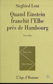 Quand einstein franchit l'elbe pres de hambourg - Couverture - Format classique