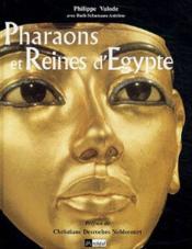 Pharaons et reines d'egypte - Couverture - Format classique