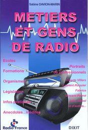 Metiers Et Gens De Radio - Intérieur - Format classique