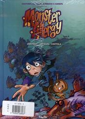 Monster allergy t.5 ; le tuteur étoilé - 4ème de couverture - Format classique