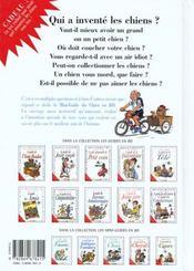 Les mini-guides en BD t.15 ; chiens - 4ème de couverture - Format classique