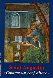 Saint Augustin «comme un cerf altéré» - Couverture - Format classique