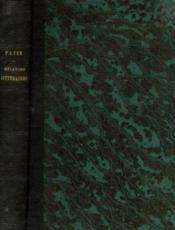 Mélanges de littérature ancienne et moderne - Couverture - Format classique