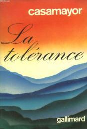 La Tolerance. - Couverture - Format classique