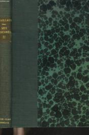 Mes Memoires Tome Ii. Mes Audaces. Agadir... 1909-1912 - Couverture - Format classique