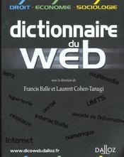 Dictionnaire du web - Intérieur - Format classique