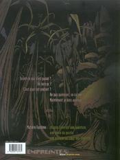 Matière fantôme t.1 ; alpha - 4ème de couverture - Format classique
