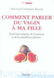 Comment parler du vagin a ma fille - Intérieur - Format classique