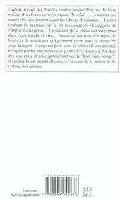 Enfant De La Borie (L') - 4ème de couverture - Format classique