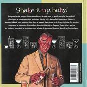 Atomic cocktails - 4ème de couverture - Format classique