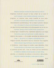 Stephane couturier ; photographies - 4ème de couverture - Format classique