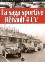 La saga sportive de la renault 4cv - Couverture - Format classique