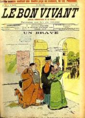 Le bon vivant n°382 Un brave - Couverture - Format classique