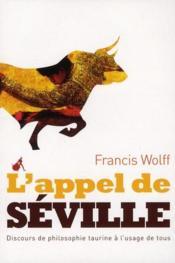 L'appel de Séville - Couverture - Format classique