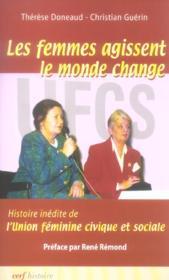 Les Femmes Agissent, Le Monde Change - Couverture - Format classique