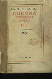Corona Benignitatis Anni Dei. - Couverture - Format classique