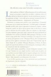 Itinéraire de l'égarement ; du rôle de la science dans l'absurdité contemporaine - Couverture - Format classique