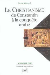 Le christianisme, de constantin à la conquête arabe (3e édition) - Intérieur - Format classique