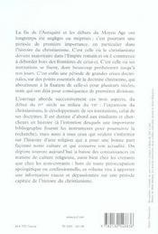 Le christianisme, de constantin à la conquête arabe (3e édition) - 4ème de couverture - Format classique