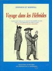 Voyage dans les hébrides - Couverture - Format classique