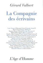 La Compagnie Des Ecrivains - Couverture - Format classique