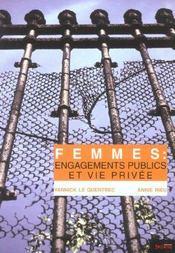 Femmes : engagements publics et vie privee - Intérieur - Format classique