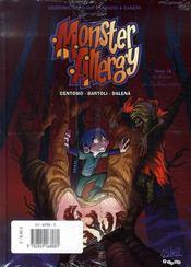 Monster allergy t.9 ; le retour de Zach - 4ème de couverture - Format classique