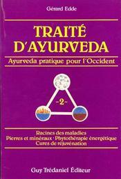 Traite d'ayurveda volume 2 - Intérieur - Format classique