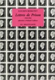 Lettres de prison - Couverture - Format classique