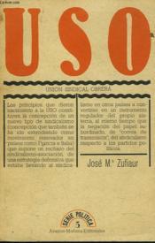 Uso. Union Sindical Obrera - Couverture - Format classique