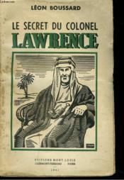 Le Secret Du Colonel Lawrence. - Couverture - Format classique