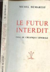 Futur Interdit - Couverture - Format classique