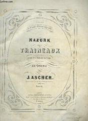 Mazurk Des Traineaux - Pour Le Piano. - Couverture - Format classique
