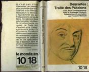 Traite Des Passions. - Couverture - Format classique