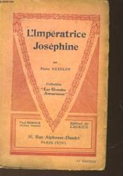 L'Imperatrice Josephine - Couverture - Format classique