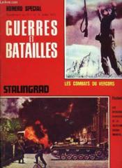 Guerres Et Batailles - N°4 Supplement - Stalingrad - Couverture - Format classique
